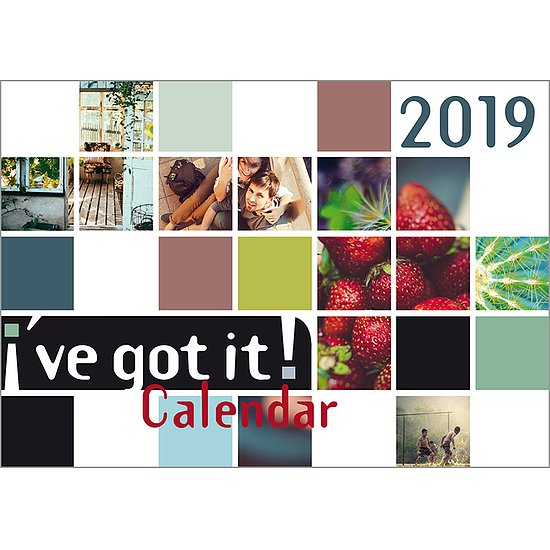 Bild 2 - I've got it! Wandkalender 2019