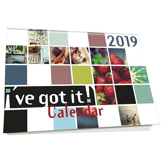 Bild 1 - I've got it! Wandkalender 2019